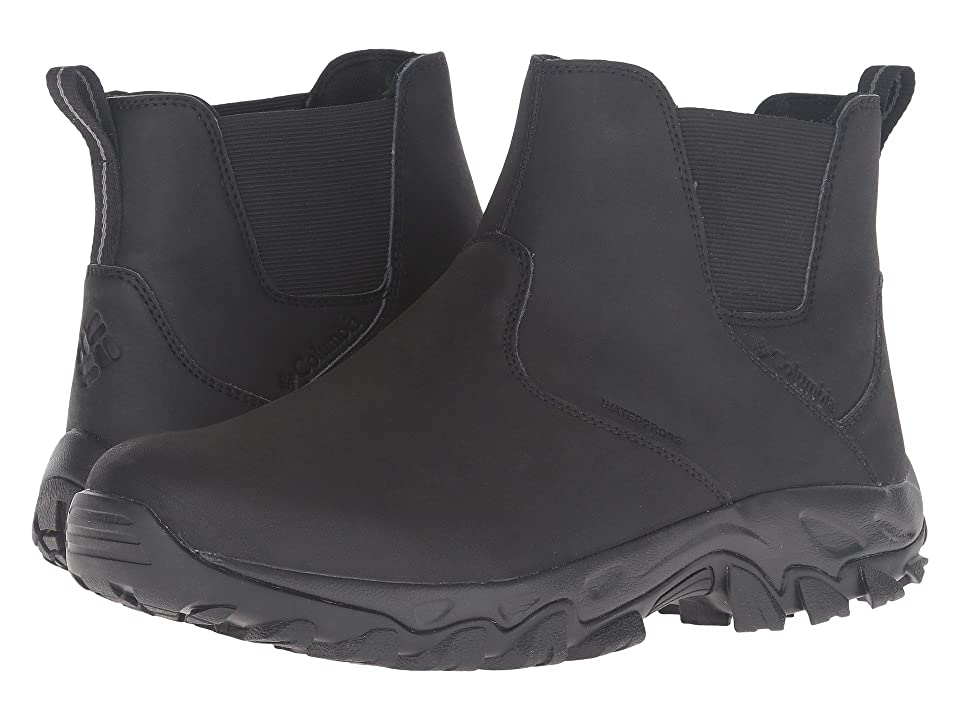 Columbia Newton Ridge Plus Slip Waterproof (Black/Charcoal) Men