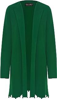 Oscar de la Renta Scalloped-Hem Wool Suit Coat
