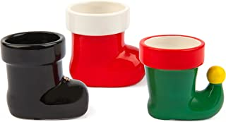 BigMouth Inc Holiday Boots Shot Glasses - Set of 3