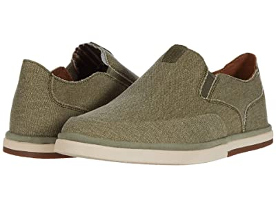 Rockport Austyn Slip-On (Olive Canvas) Men