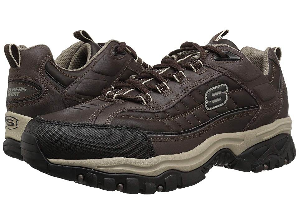 SKECHERS Energy Downforce (Brown/Taupe) Men