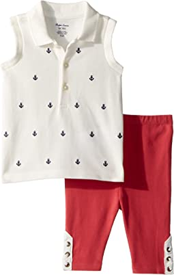 Nautical Polo & Leggings Set (Infant)