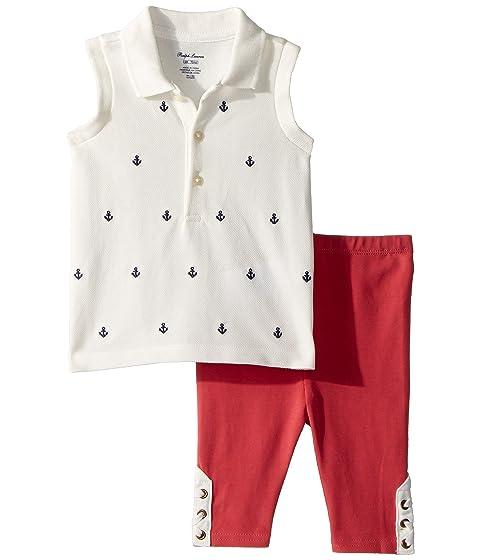 ba0715bd6 Ralph Lauren Baby Nautical Polo   Leggings Set (Infant) at 6pm