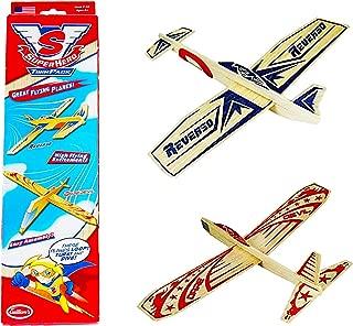 Guillow Balsa Wood Model Airplane Set (4 Planes) Super Hero Design