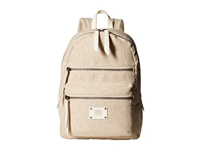 Frye Ivy Backpack (Off-White) Backpack Bags