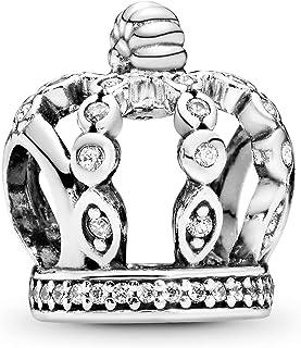 Pandora Women Silver Bead Charm - 792058CZ