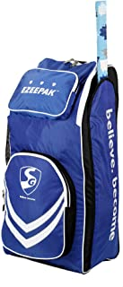 SG Ezeepak Duffel Cricket Kit Bag Full Size with Shoulder Straps and Handle for Men/Single Player/Individual Personal Cricket Kit Bags