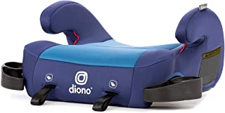 Diono Solana 2 Latch, XL Space Backless Booster Seat, Lightweight and Room to Grow, Blue