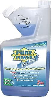 Valterra V23102 Pure Power Blue Waste Digester and Odor Eliminator-32 oz. Self-Measuring Bottle, 32. Fluid_Ounces
