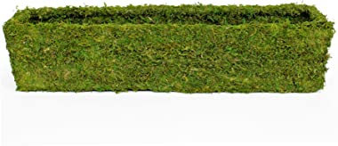 "Super Moss (29365) MossWeave Window Box Planter, Fresh Green, 36"""