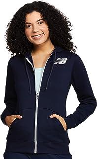 New Balance Core Fleece Full Zip Hoodie Giacca Donna