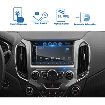 PcProfessional Screen Protector Set of 2 for 2018 2019 Chevrolet Malibu LTZ Primer 8 Chevrolet Mylink Touch Screen Display Navigation System High Clarity Anti Scratch Filters UV