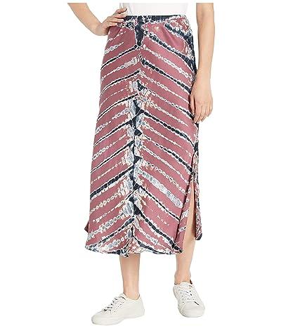 Young Fabulous & Broke Felicity Skirt (Soft Plum Frame Wash) Women