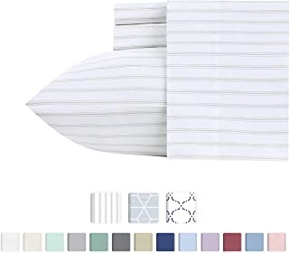 Best black and white ticking stripe bedding Reviews