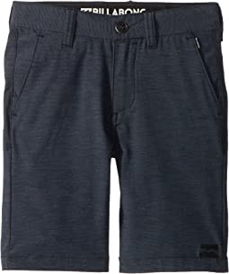 Billabong Kids Crossfire X Shorts (Toddler/Little Kids)