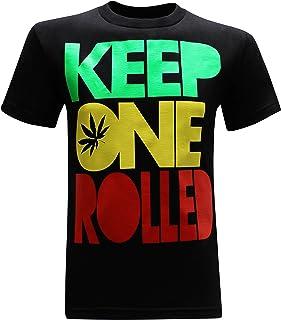 Keep One Rolled Marijuana 420 Pot Blunt Dank Weed Smoker Funny Men's T-Shirt