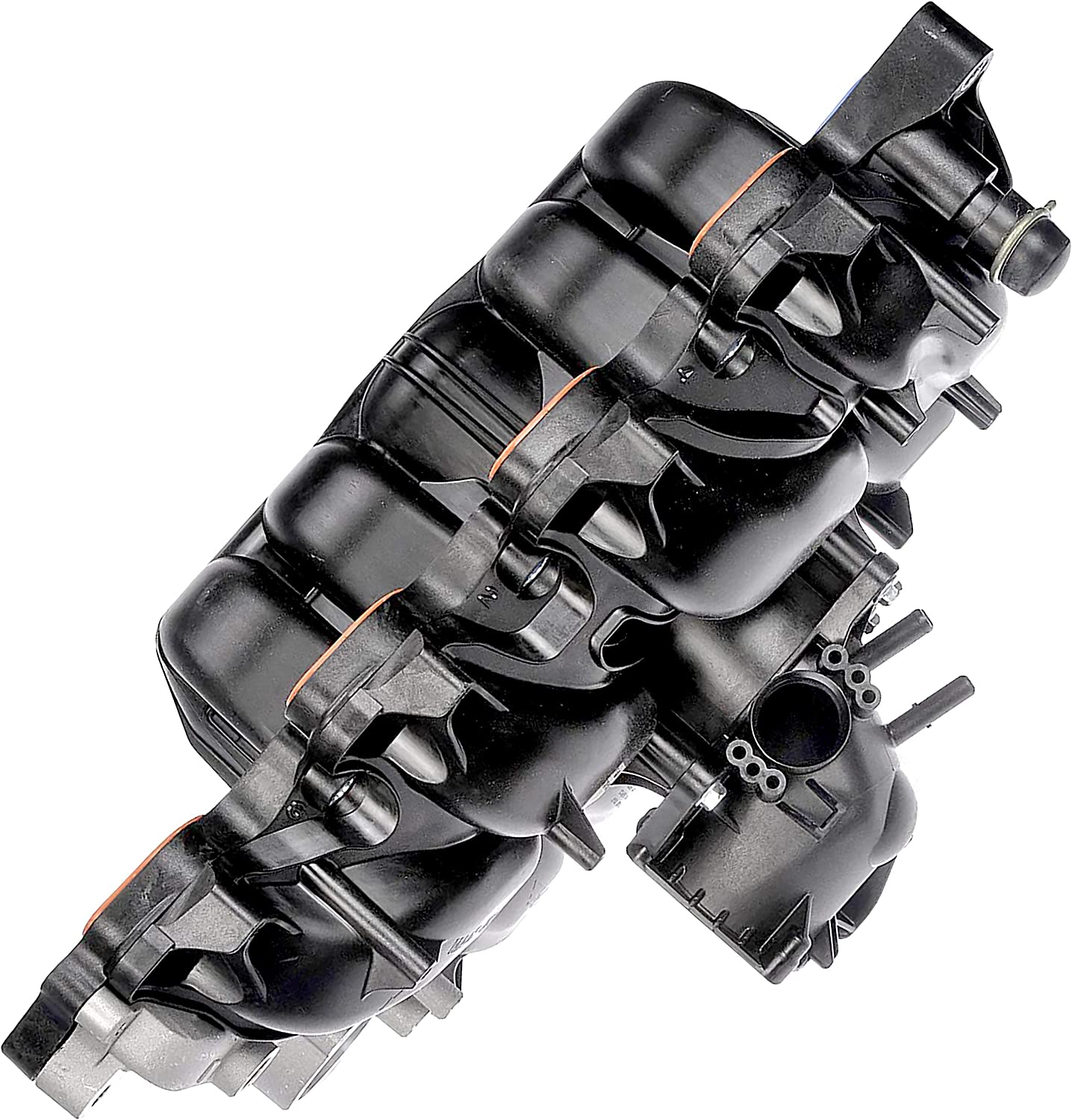 APDTY 726486 Upper Intake Manifold Body Manufacturer direct delivery Molded Throttle Washington Mall Rep With