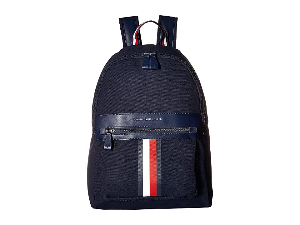 Tommy Hilfiger Icon Backpack Canvas (Tommy Navy) Backpack Bags