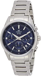 Casio Mens Quartz Watch, Analog Display and Stainless Steel Strap EFR-527D-2AVUDF