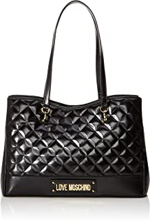 Love Moschino Borsa Quilted Nappa Pu, Tote Donna, 25x35x14 cm (W x H x L)