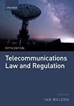 Telecommunications Law and Regulation (English Edition)
