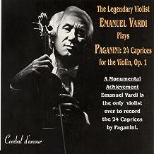 The Legendary Violist Emanuel Vardi Plays the 24 Paganini Caprices