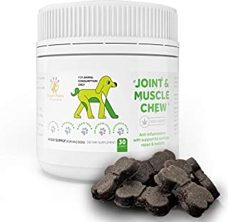 Super Paws Vitacare Dog Joint Supplement Used as Dog Arthritis Supplement - Our Natural Dog Chew Enriched with Glucosamine...