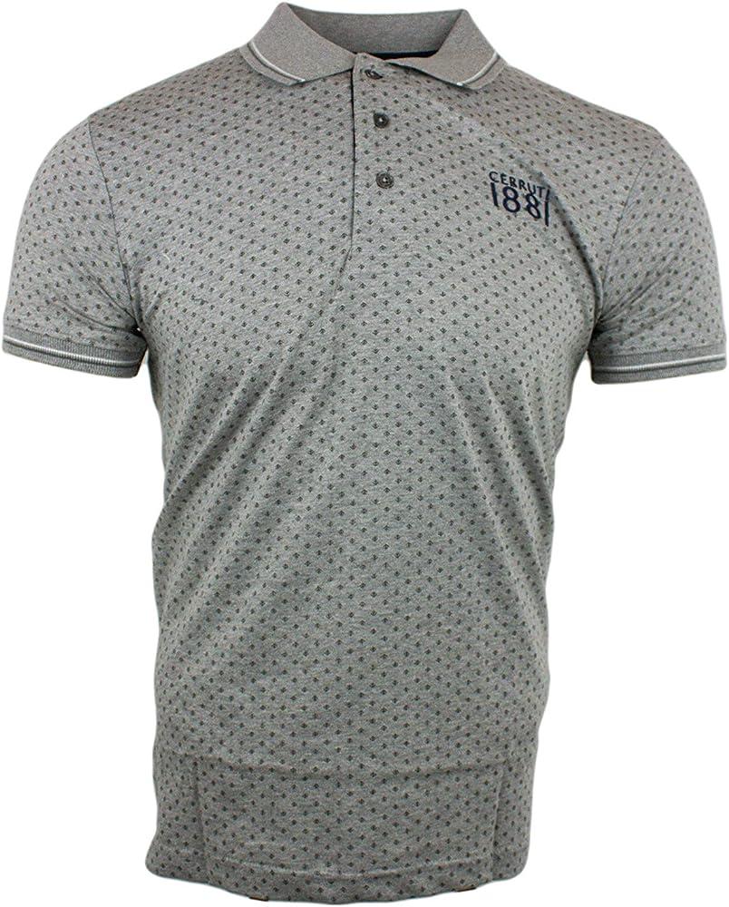 Cerruti 1881, polo,maglietta  da uomo in cotone, a maniche corte,100 % cotone 06183