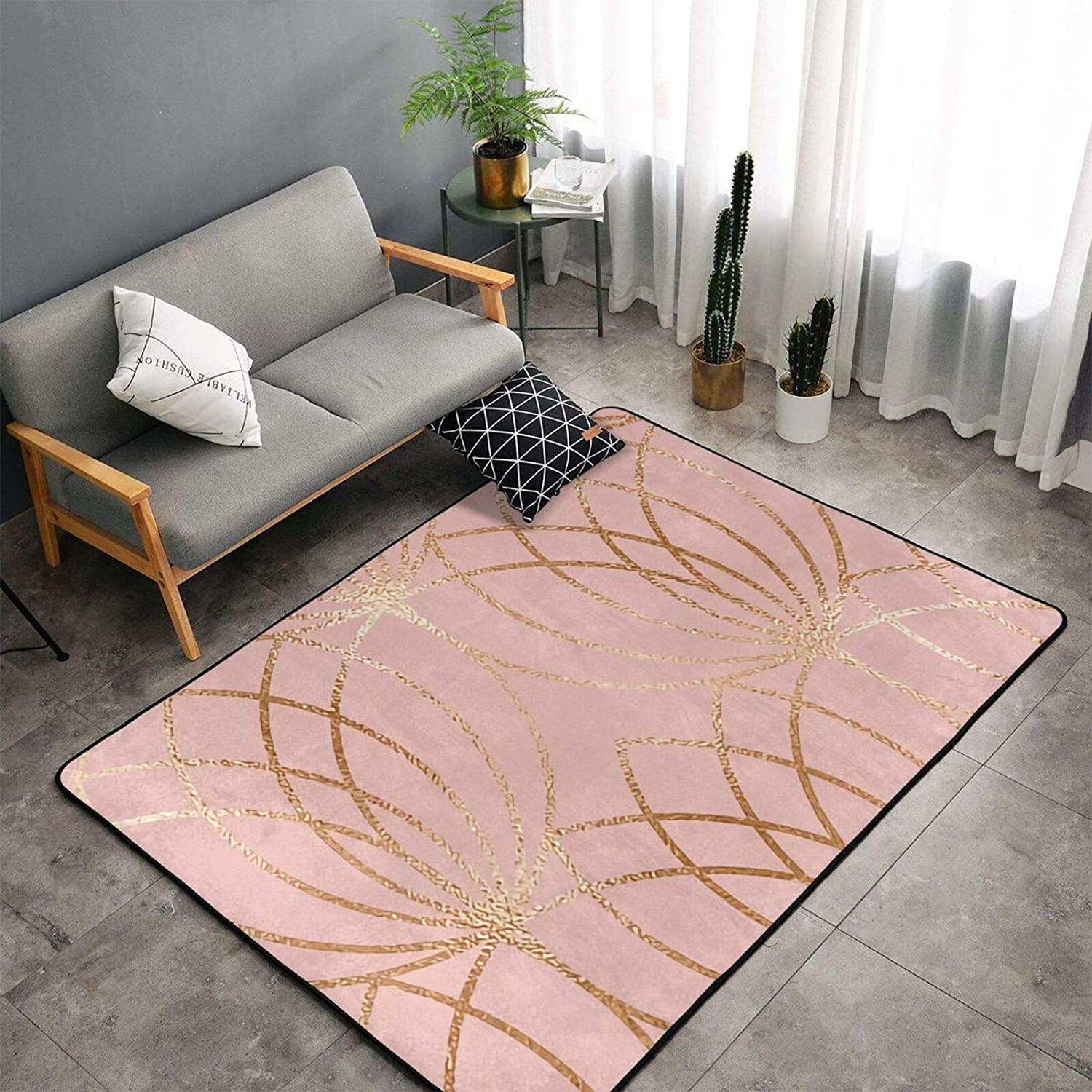 Luxury Modern Classic Thick Soft Area Rug for Bedroo Room Living Dallas Mall Max 80% OFF