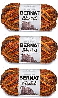 Bernat Bulk Buy Blanket Yarn (3-Pack) Fall Leaves 161200-555