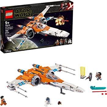 Amazon Com Lego Star Wars Poe Dameron S X Wing Fighter 75273 Building Kit Cool Construction Toy For Kids New 2020 761 Pieces Toys Games