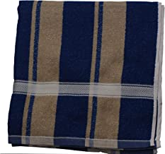 NOHUNT Bath 100% Cotton Towel Ultra Soft, Absorbent and Anti Microbial Bath Towel 30X60 Inches (Blue) 1pc