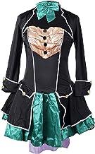 Traje de fantasia de sombrerero loco Emma's Wardrobe - incluye el vestido sin tirantes, la chaqueta, el sombrero y el corbatin - Hermoso traje de Alicia en el pais de las maravillas para Halloween y fiestas del te - alta calidad - EUR 44 XXL