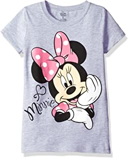 Girls' Minnie Mouse Short Sleeve T-Shirt