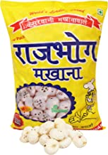 Rajbhog Regular Lotus Seeds Pop/Gorgon Nut Puffed Kernel (Makhana) Grade - Big Size Pouch, 100 g