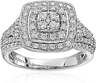 Keepsake Signature 14k Gold Diamond Statement Engagement Ring (1cttw, H-I Color, I1 Clarity)