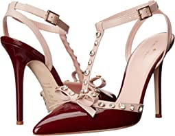 Red Chestnut Patent/Pale Pink Nappa