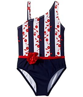 Colorblocked One-Piece Swimsuit (Toddler/Little Kids/Big Kids)