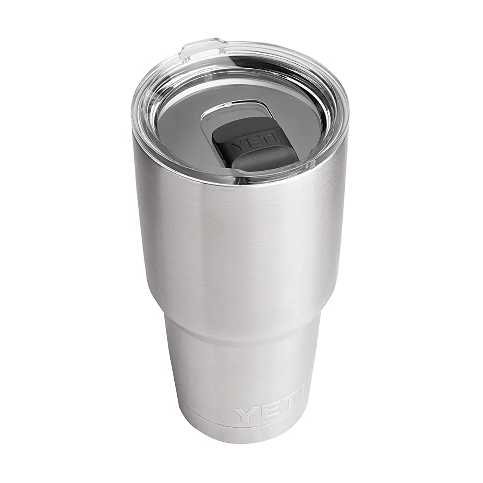 YETI Rambler 30 oz Stainless Steel Vacuum Insulated Tumbler w/MagSlider Lid, Stainless