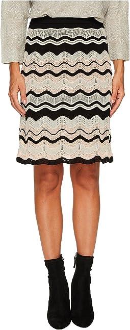 M Missoni - Ripple Ribbon Skirt
