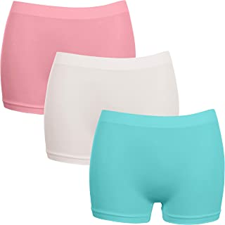 Pack 3 Coloured G3 Microfibre Lacy Thongs NO VPL Knickers Women One Size 10-18