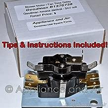 Goodman Janitrol Amana Furnace Fan BLOWER Relay Timer Sequencer + Instructions
