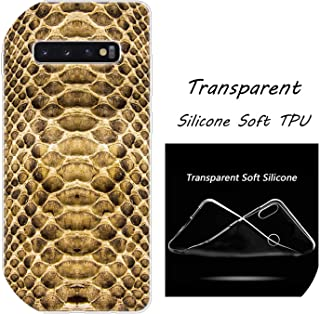 Hot Leopard Print Snake Skin Silicone Case for Sam-Sung Galaxy S10 S9 S8 Plus S7 Edge A6 A8 Plus A7 A9 2018 A5 2017 Fashion Cover,for Galaxy S8,009