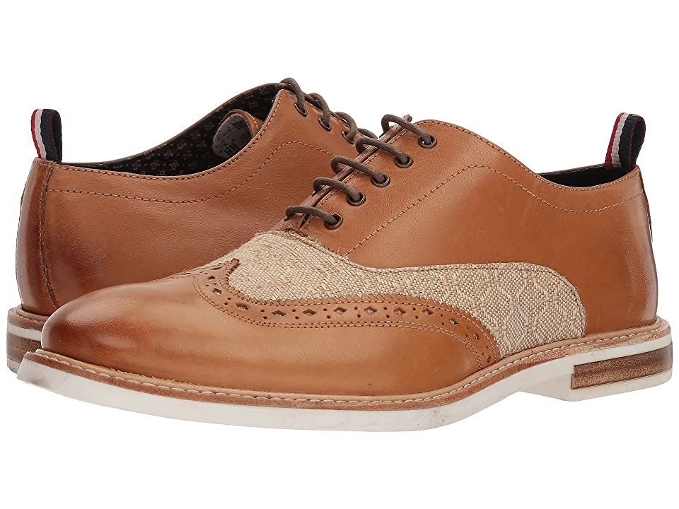 Ben Sherman Birk Short Wing Tip (Cognac) Men