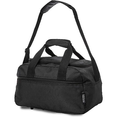 Aerolite Gepäck- Handgepäck, Schwarz