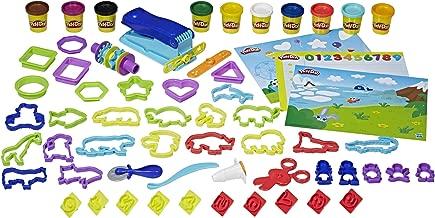 Play-Doh Preschool Fundamentals Box - inc 10 Tubs of Dough & 50+ Acc - Creative Kids Toys - Ages 3+