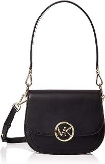 Michael Kors Womens Md Saddle Msgr Bag