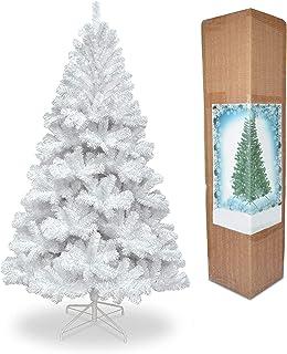 Minterest Sapin de Noel Artificiel Blanc Sapin de Noel Artificiel 150cm Sapin de Noel Blanc Sapins de No/ël