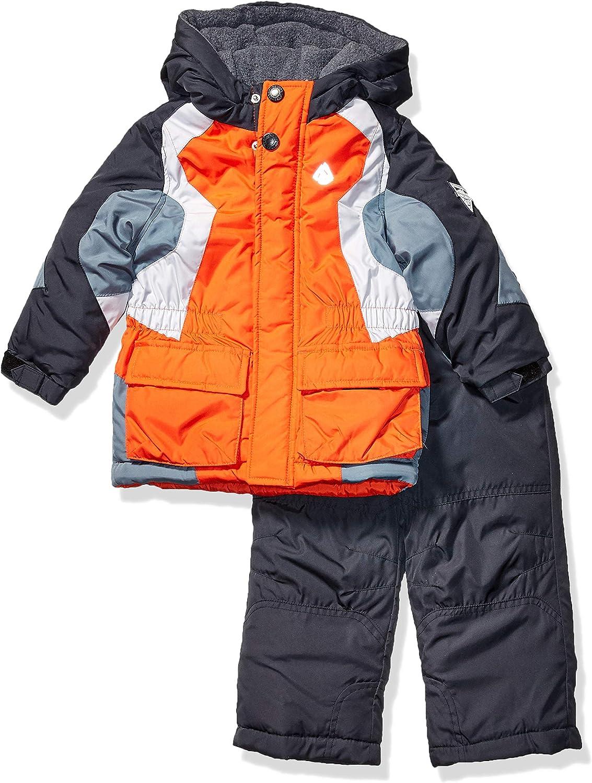 予約販売 LONDON FOG Baby Boys' 2-Piece 正規店 Pant Snowsuit Snow Jacket