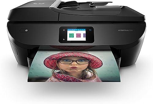 HP Envy Photo 7830 Imprimante Multifonction jet d'encre couleur (15ppm, 4800 x 1200 ppp, USB, Wifi, Instant Ink)